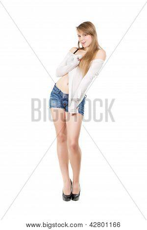 Nice Leggy Woman