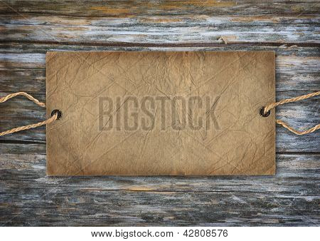 Vintage Retro Cardboard