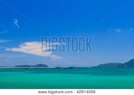 Exotic Bay in Rawai beach Phuket island Thailand