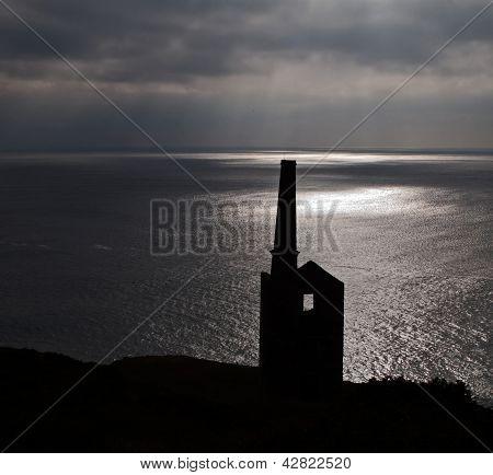 Wheal Prosper At Rinsey Head In Cornwall