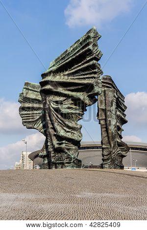 Silesian Insurgents' Monument in Katowice