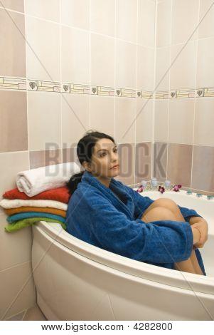 Dreaming In Bathroom