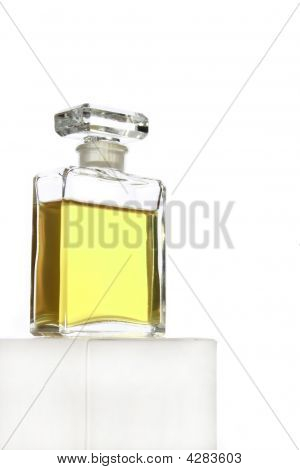Crystal Glass Perfume Bottle