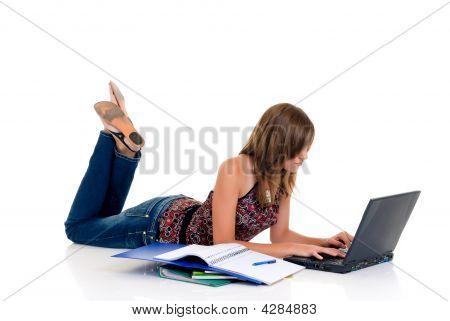 Teenager Girl Student