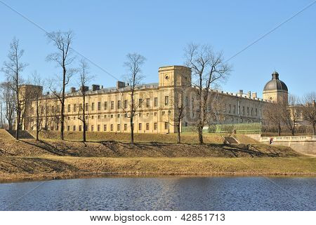 Gatchina, St. Petersburg.  Gatchina Palace
