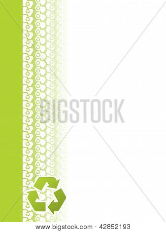 Ecological Tire Track Brochure Design
