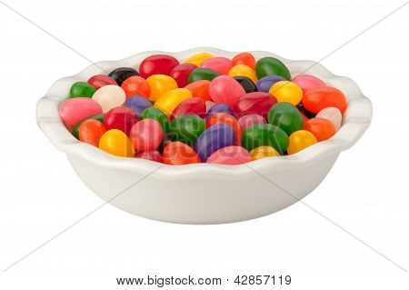 Jellybeans Isolated