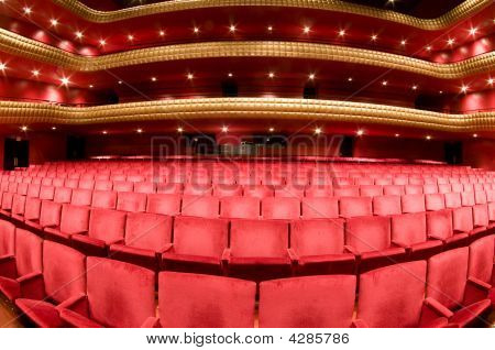 Interior Famous  Nicaragua National Theater Ruben Dario