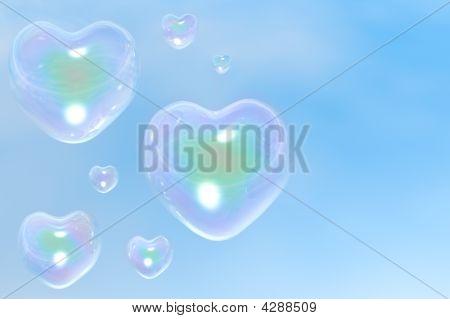 Die Herz-Blasen