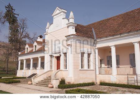 beautiful Apafi Palace, Maranclav, Romania