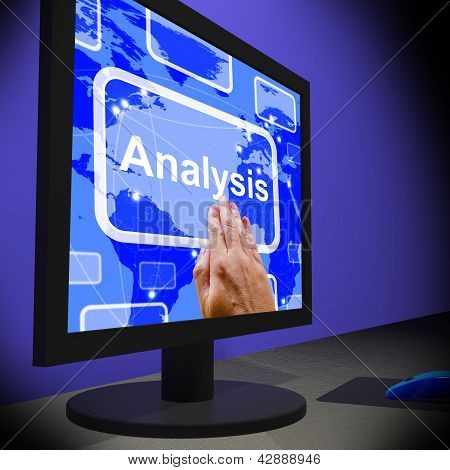 Analysis On Monitor Showing Running Exams