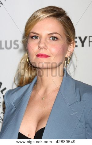 "LOS ANGELES - MAR 3:  Jennifer Morrison arrives at the  ""Once Upon A Time"" PaleyFEST Event at the Saban Theater on March 3, 2013 in Los Angeles, CA"