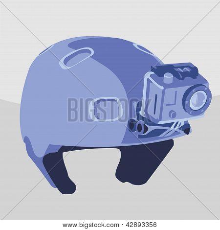 EXetreme esportes capacete com câmera