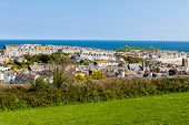 image of st ives  - Coastal town of St Ives in Cornwall - JPG