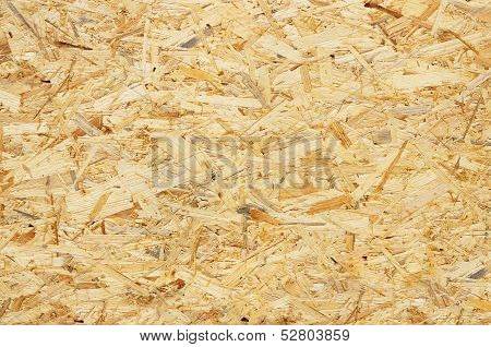 Natural Wooden Pressed Shavings. Background.