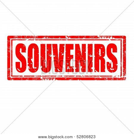 Souvenirs-stamp