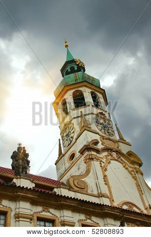 Loreta, Famous Church In Prague, Czech Republic