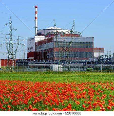 Reactor of nuclear power plant Temelin - Czech Republic