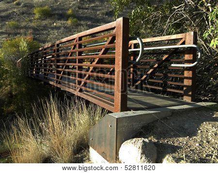 Bridge in Boise Foothills