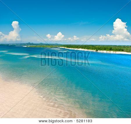 Sea Coast Flight View