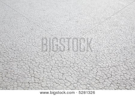 Dry Lakebed Abstract Background