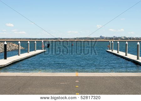 Boat Ramp And Floating Jetty