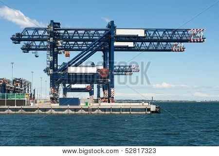 Dockside Cranes