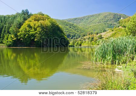 One of the lakes at Semenic national park