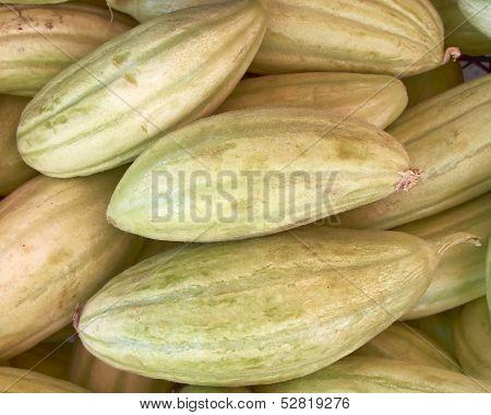 fresh green muskmelons for sale