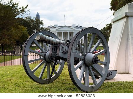 Civil War Cannon.