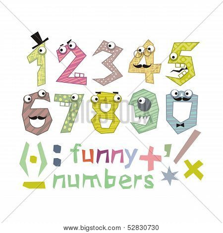 Funny Numbers Set