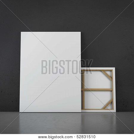 Floor standing two frames