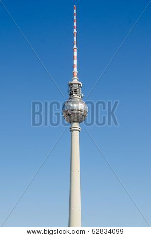 Fernsehturm - Television Tower In Berlin