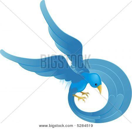 Ing Blue Bird Icon