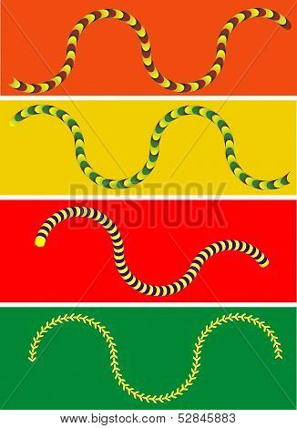 Moving Snake Illusion