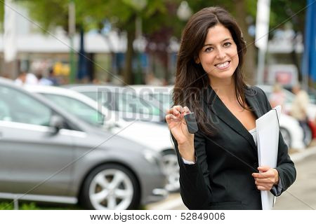 Car Sales Woman