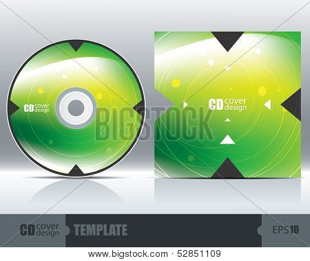 Cd Cover Design Template Set 1