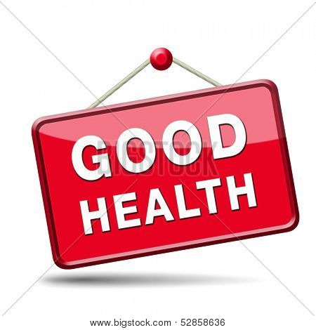 good health healthy life and vitality energy sane mind and body icon button sign