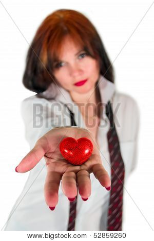 Heart In The Palm