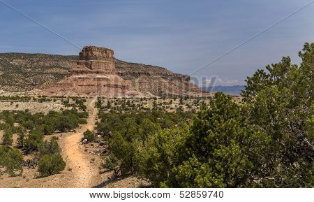 Chimney Rock at the San Rafael Swell in Utah