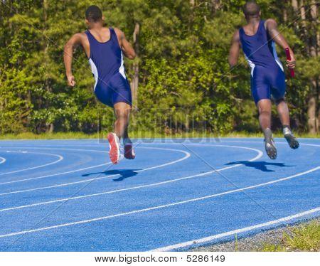 Men In Blue Running