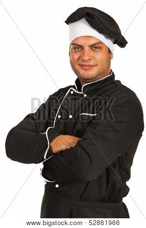 Smiling Chef Man