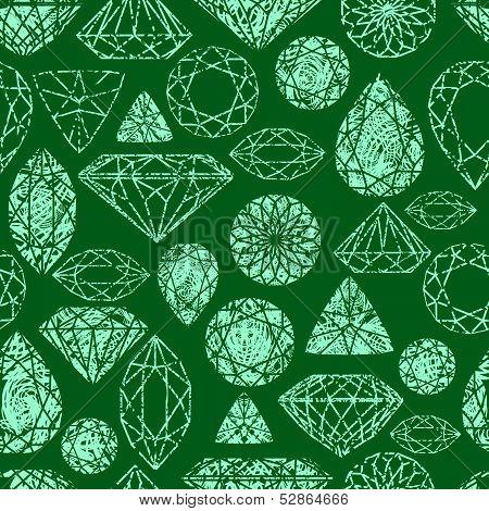 Vector grunge seamless pattern