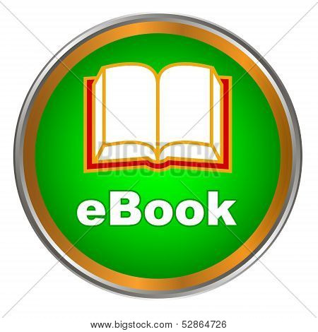 Green ebook icon