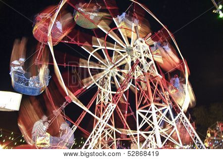 Big Wheel Powered By Man