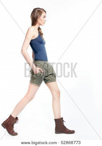 Attractive Beautiful Woman