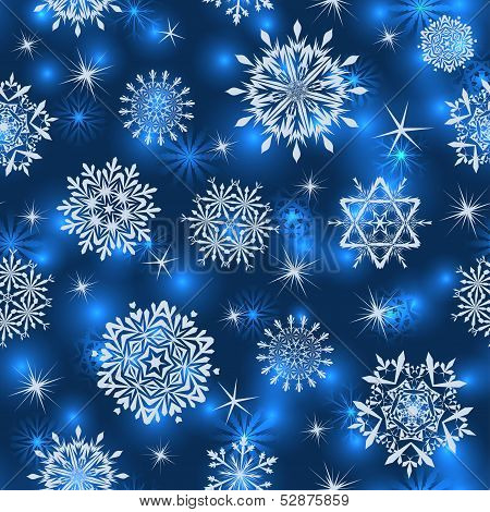 Seamless Snowflake Patterns