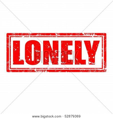 Lonely-stamp