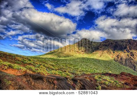North-west Coast Of Tenerife Near Punto Teno Lighthouse, Canarian Islands