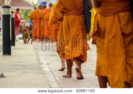 Thailand merit to the early days of Buddhist monks.